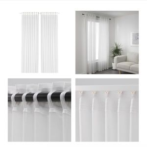 IKEA GJERTRUD Sheer Curtains